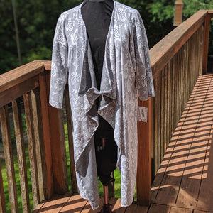 LuLaRoe Shirely Cardigan Kimono sz L 16/22
